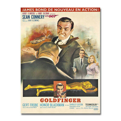 JAMES BOND 007 Hot Movie Art Canvas Poster 8x11 24x32 inches