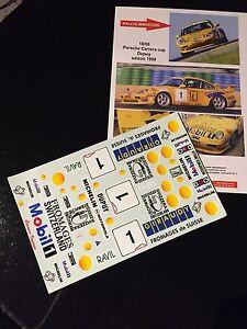 Decals 1/18 Porsche Carrera Cup Dupuy 1998 911 964
