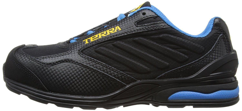 Terra professionale Scarpe di sicurezza 506105 Vapour s1p SRA Nero/Blu Tg. 44 NUOVO y3