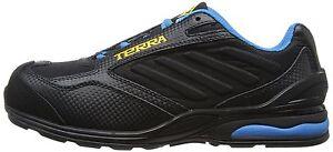 Terra-Beruf-Sicherheitsschuhe-506105-Vapour-S1P-SRA-schwarz-blau-Gr-45-Neu-Y220