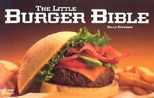NEW - The Little Burger Bible (Nitty Gritty Cookbooks)