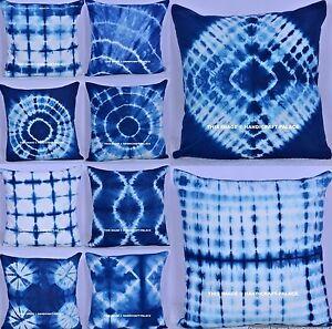 100 Pc Set Wholesale Lot Cotton Tie Dye Cushion Cover Throw Indian