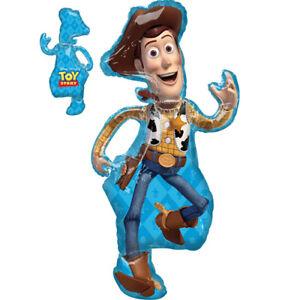 Détails Sur Toy Story 4 Woody Grande Foil Balloon 44 In Environ 11176 Cm Tall 111 Cm Fête Danniversaire Décoration Afficher Le Titre