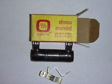 Ohmite 1-Ohm, 25-Watt Resistor Stock No. 0200J Vitreous Enamel New