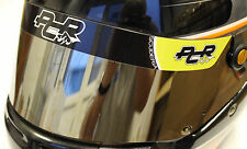 PCR style HELMET VISOR STICKER/STRIP - KARTING