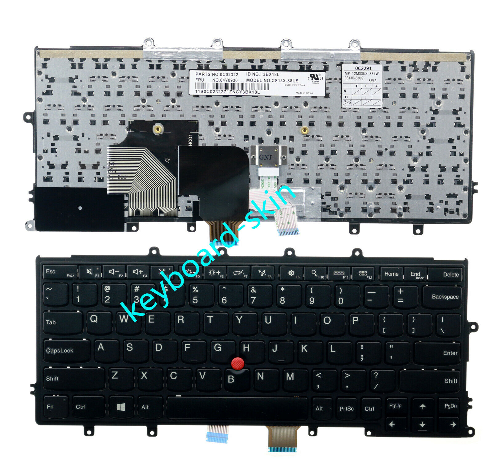 New for lenovo IBM Thinkpad X240 X240S X250 X260 X270 series laptop Keyboard
