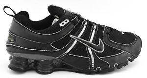e957995167bd MENS NIKE SHOX TURBO + NZ 2007 RUNNING SHOES SIZE 9 BLACK SILVER ...