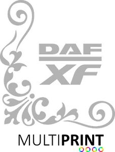 DAF-XF-Lorry-Truck-Cab-Corner-Window-Stickers-Calligraphy-Line-Art-LOR37