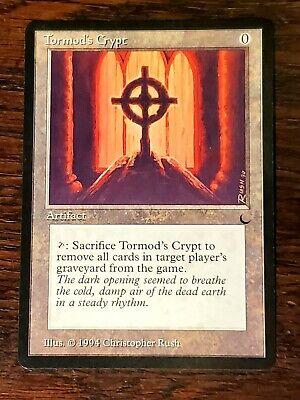 MTG 1X Tormod/'s Crypt X1 The Dark Magic NM//LP