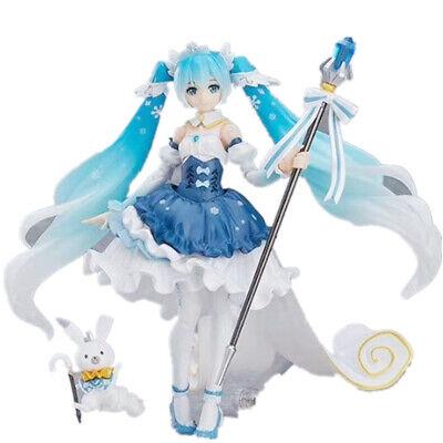 New in Box 15CM Hatsune Miku PVC Action Anime MIKU Figure Toy Figma 307 Gift