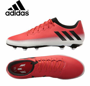 78dd6cefd12 Adidas Messi 16.3 FG AG Soccer Cleats BA9020 Red Black Outdoor ...