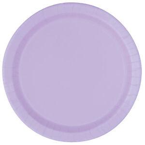 Image is loading Lavender-22cm-Paper-Party-Dinner-Plates-Celebration-BBQ-  sc 1 st  eBay & Lavender 22cm Paper Party Dinner Plates | Celebration | BBQ ...