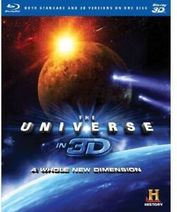 The Universe in 3D: A Whole New Dimension [New Blu-ray 3D] Full Frame,