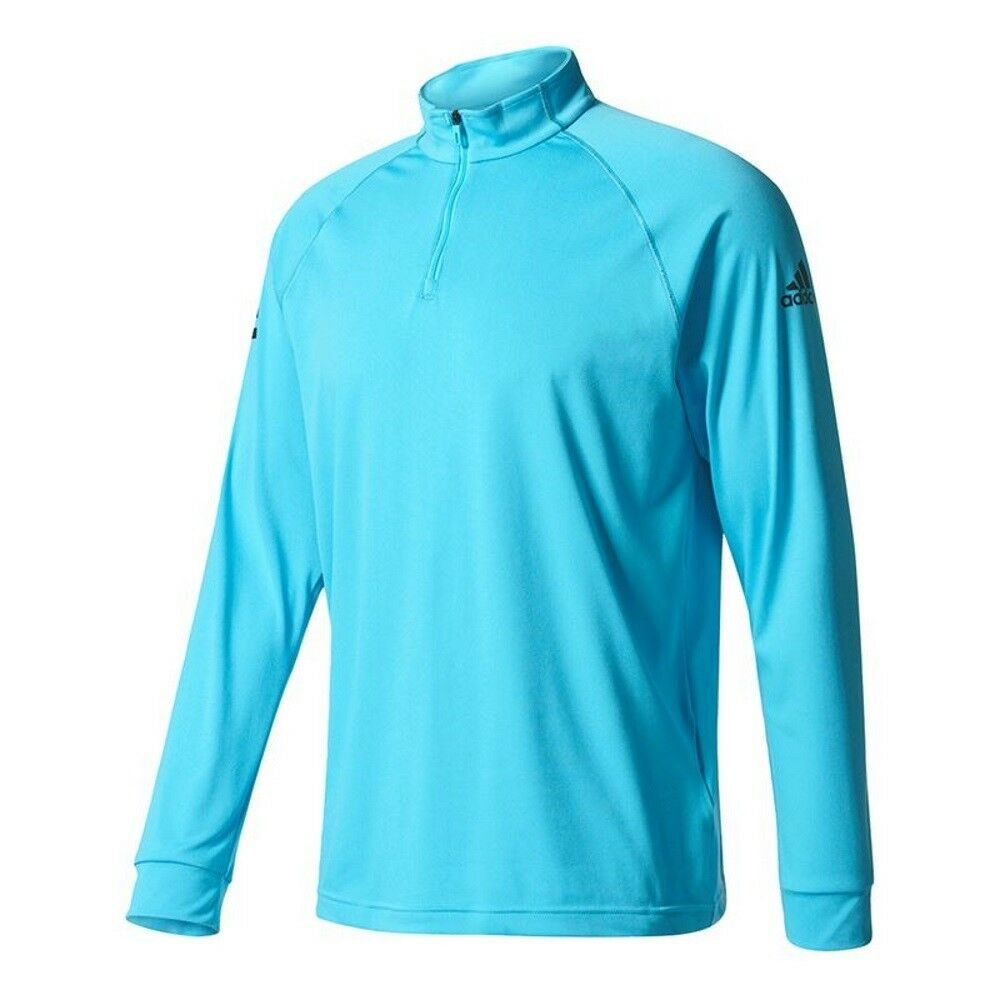 Adidas Mens Club Midlayer Climalite Tennis Top - Samba bluee   Navy   S - XXL