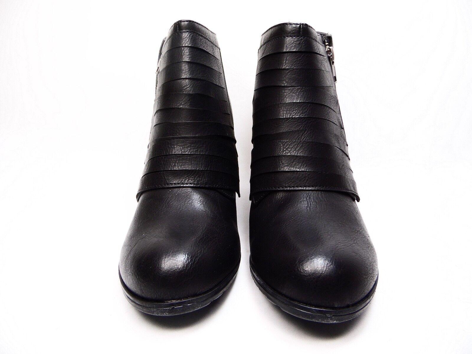 Kisses Notify femme Bottines Compensées Noir Taille 9.5 M