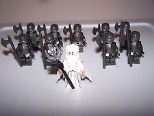 LEGO® minifigure lotr custom saruman uruk-hai hobbit lot castle helmet armor