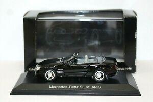 Norev-351141-1-43-Mercedes-SL-65-AMG-Black-Mint-Box-DB