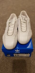 Details about Adidas Originals Goodyear Racer Trainers Size 6 New & Boxed WhiteSilverChrome