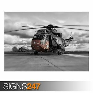 AC124 ARMY POSTER HELICOPTER RS03 Photo Picture Poster Print Art A0 to A4