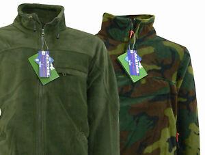 size 40 cfb11 c8191 Dettagli su Maglione uomo felpa militare invernale giacca in pile collo  alto zip TaglieForti