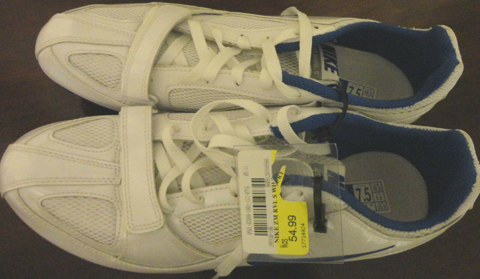 NIKE ZOOM RIVAL & S WHITE WOMENS TRACK & RIVAL FIELD MULTI PURPOSE SHOES JOGGER SIZE 7.5 b81adc