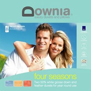 DOWNIA-Four-Seasons-White-Goose-Down-Feather-Single-Bed-Size-Quilt-Doona-Duvet
