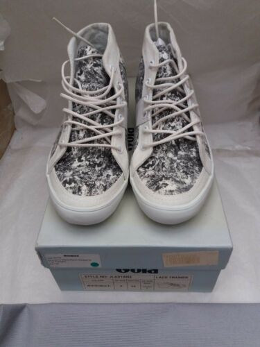 By Women's Saunders Jonathan Black Size 5 Hi Print Uk Gola Trainers Top white r5qO4r