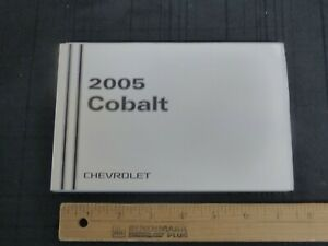 2005-Chevrolet-COBALT-Car-Owners-Manual-New-GM-Original
