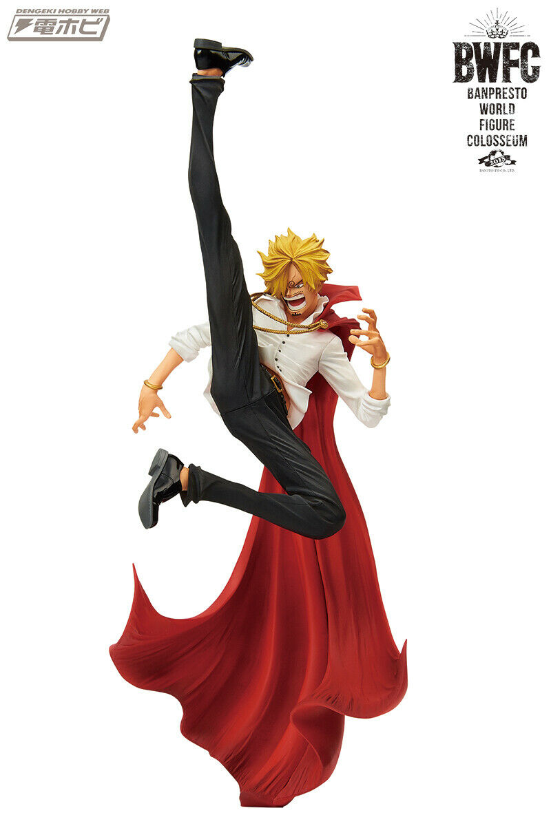 ☀ One Piece Sanji Vinsmoke Banpresto World Figure Colosseum BWFC 2 Figurine ☀
