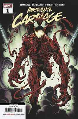 Absolute Carnage #1 signed by Ryan Stegman 1st Print SOLD OUT Midtown COA NM