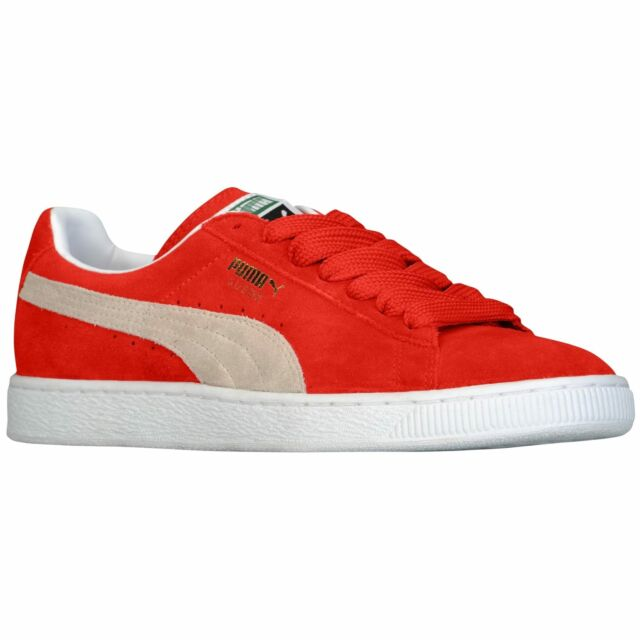 52dc657f9959 PUMA Suede Classic High Risk Red Men s Basketball Shoes 35263465 12 ...