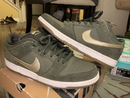 Nike SB dunk low Sequoia Green Size 9.5