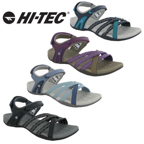 Hi-tec Savanna Sandals Womens Flats Open Toe Slingback Walking Summer UK4-8 2020
