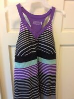 Zeroxposur Outdoor Lifestyle Large Multi Razor Back Dress Sporty Xl $80 See