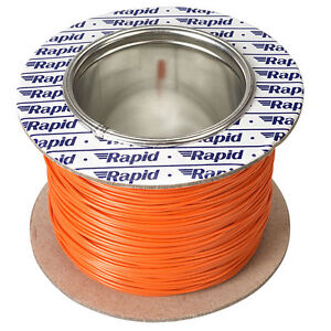 Model Railway Layout Lighting DCC Chip etc Wire 100m Roll 10//0.1mm 0.5A Green