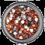 6mm-Rhinestone-Gem-20-Colors-Flatback-Nail-Art-Crystal-Resin-Bead thumbnail 17