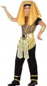 Expressif Déguisement Garçon Pharaon 7/8/9 Ans Costume Enfant Roi Egypte Egytien Neuf Disponible Dans Divers ModèLes Et SpéCifications Pour Votre SéLection