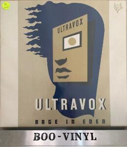 Ultravox-Rage-In-Eden-Vinyl-Record-LP-Album-1981-CDL-1338-A1-B1-Ex-Von