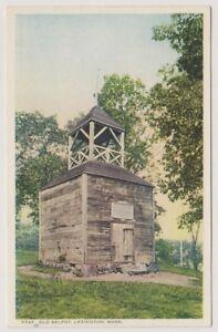 card-Old-Belfrey-Lexington-Mass-A101