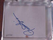 Rollie Fingers Autographed Paper/ Index Card