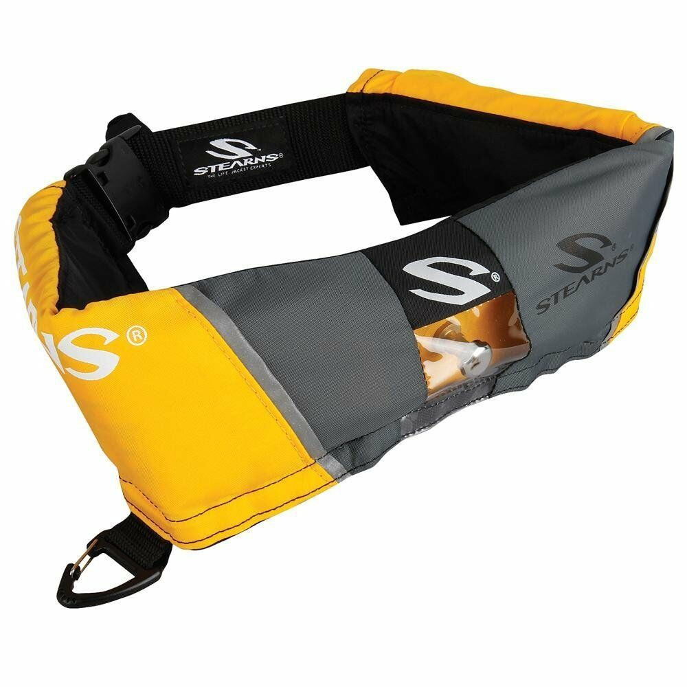 NEW Stearns 0340 M16 Manual Inflatable Belt orogrigio PFD 2000013884