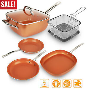 Healthy-Non-Stick-Copper-Ceramic-Induction-Bottom-Frying-Pan-Skillet