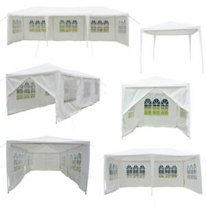10-039-X-10-039-20-039-30-039-Canopy-Wedding-Party-Tent-Gazebo-Pavilion-w-Walls-Cover-Outdoor