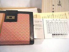 Ladies Womens Cloth & Faux Leather Wallet Coin Purse NEW in Box Colorful NICE!