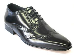 hommes-tag1-cuir-noir-habille-Brogue-a-lacets-pour-Intelligent-Vetement-CH-02