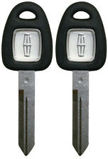 2 NEW LINCOLN OEM JEWEL LOGO UNCUT MASTER KEY BLANK - FAST SHIPPING -MADE IN USA