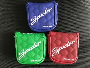 1x-3x-Golf-Cover-Headcover-for-Taylormade-Spider-Tour-Red-Black-Platimun-Putter