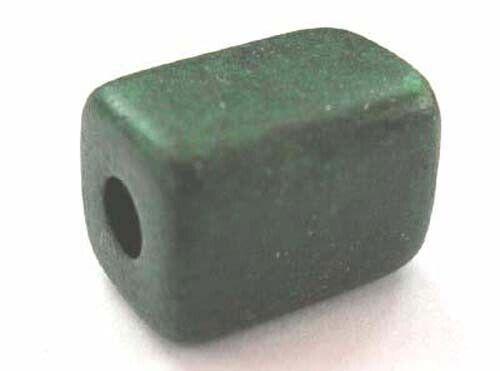 - Grec Céramique Perles 10 vert foncé Evergreen 10.5x8mm 1016dgr 3 mm trou