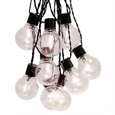 Star 4.50 m LED Outdoor Party Light Chain Warm White/Black