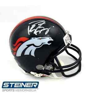 Image is loading Peyton-Manning-Autographed-Signed-Denver-Broncos -Riddell-NFL- 6e7369178